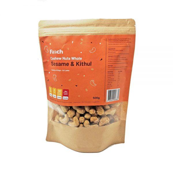 Cashew Nuts Whole Sesame & Kithul 500g