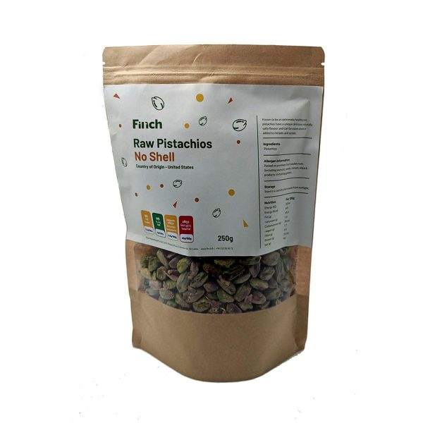 Raw Pistachios No Shell 250g