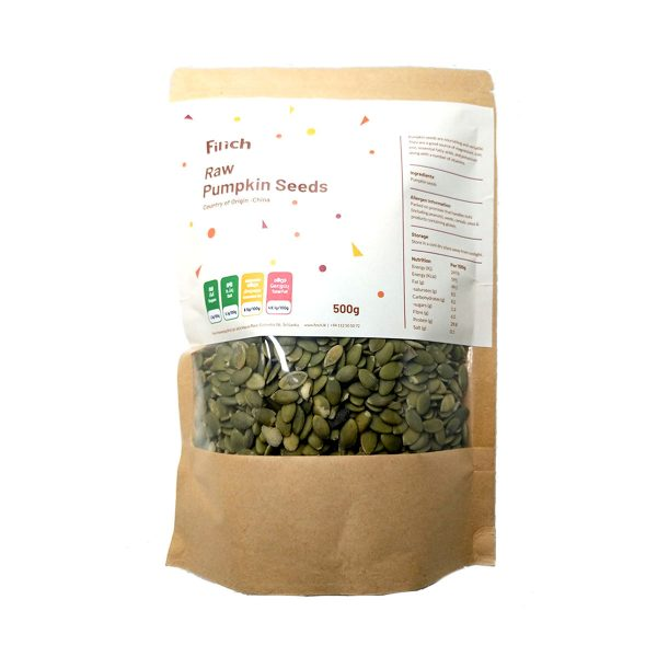 Raw Pumpkin Seeds 500g