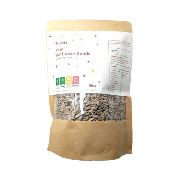 Raw Sunflower Seeds 500g